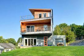 Off the grid modern prefab homes Green Ecocraft Homes Ecomod 18 Inexpensive Sustainable Homes Almost Anyone Can Afford