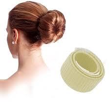 French Hairstyles 39 Awesome Coosa 24X Bun Maker DIY Women Girls Perfect Hair Bun Making Styling