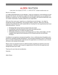 client service manager cover letter best account manager cover letter examples livecareer