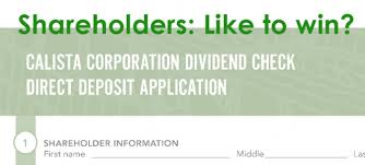2nd Direct Deposit Drawing Calista Corporation