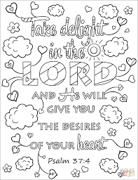 Whenever I Am Afraid, I Will Trust in You coloring page | Free ...