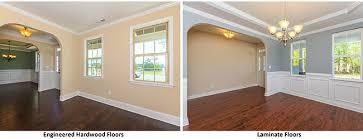 Laminate Floors vs. Engineered Hardwood Floors