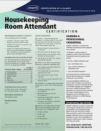 Resume Hotel Housekeeping Resume