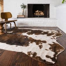 faux animal rug home rugs ideas inside faux animal skin rug decorating