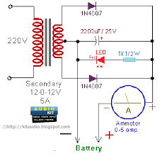 12 volt car battery charger circuit electro circuit diaggram 12 volt car battery charger circuit