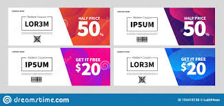 Gift Voucher Template With Clean And Modern Design For Flash