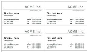 Ms Word Blank Business Card Template Blank Business Card Template Free Printable Cards Templates Plain