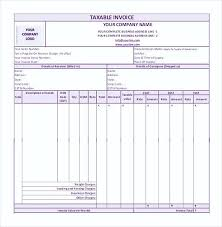Basic Invoice Template Word Mesmerizing Simple GST Invoice Format In PDF44 Simple Invoice Template Word