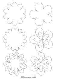 60 Fiori Di Primavera Da Stampare E Colorare Con Fiori Da Stampare E