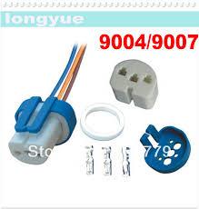 similiar 9007 bulb female keywords h7 female ceramic 50pcs heat resistance headlight wiring harness lamp