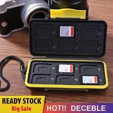 Hộp Đựng Thẻ Nhớ Chống Nước - Thẻ nhớ máy ảnh