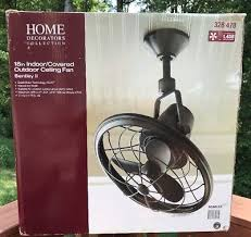 home decorators bentley ii 18 indoor outdoor natural iron wall fan am208w ni