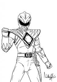 Power Rangers Coloring Pages Megaforce Free Printable Dino Charge