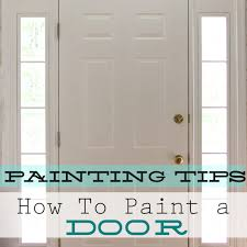 paint interior doorsHowTo Paint An Interior Door  Home Decorating  Painting Advice