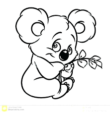 Easy Coloring Pages Animals Popular Littlest Pet Shop Colouring Cute