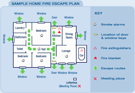 Evacuation Plan Sample Fesa Home Fire Escape Plan