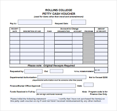 petty cash log example sample petty cash voucher template 9 free documents in pdf word