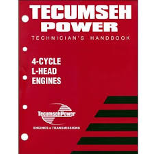 740049 Tecumseh Service Manual for 4-Cycle L-Head Engines