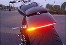 Motorcycle Tail Brake Stop <b>Turn Signal Light</b> Strip 12V Waterproof ...