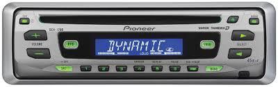 1997 ford aspire car radio pioneer 45w deh 1700