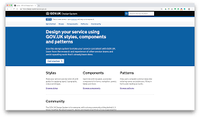Gov Uk Design System What Would Other Government Websites Look If They Looked