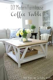 white farmhouse coffee table how to build a modern classic square for designs off