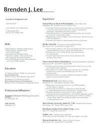 Personal Attributes Resume Examples Resume Resumes Skills Based