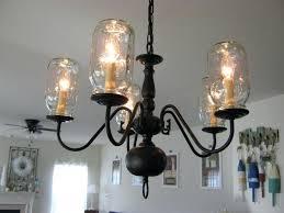 fake chandelier jar light fixture fake it frugal pottery barn chandelier surprising for wall fake chandelier