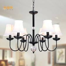 chandeliers with fabric shades luxury style modern chandelier replacement