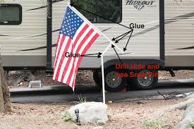 flagpole setup