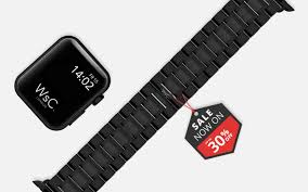 <b>Stainless Steel</b> Apple Watch <b>Straps for</b> Series 5,4,3,2 & 1 Apple ...