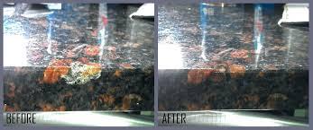 using clorox wipes on granite countertops