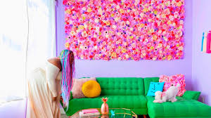 make this flower wall