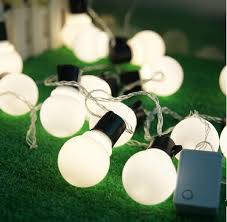 10m led large bulb string light waterproof outdoor patio lanterns decorated wedding celebration party supplies tree light strings led string
