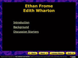 ethan frome by edith wharton edith wharton born edith jones in an ethan frome edith wharton introduction background discussion starters