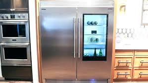 glass front fridge. Costco Refrigerators Glass Front Fridge L