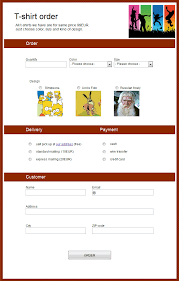 Free Online Order Form Template Online Order Forms Magdalene Project Org