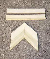 diy wooden arrow tutorial