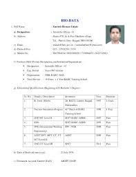 Resume Format In Marathi Resume Format For Marathi Teachers