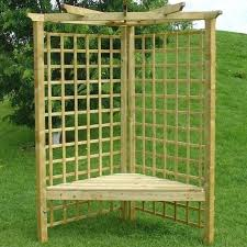 gudrum salisbury corner arbour seat