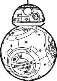 Star Wars The Force Awakens Coloring Pages Wecoloringpage Black And