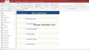 Library System Database Ms Access Download Access Database
