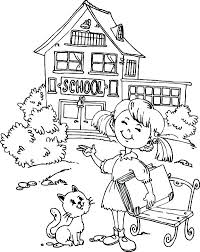 back to school coloring pages for kindergarten back school coloring pages free school coloring pages for