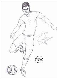 Soccer Coloring Pages Ronaldo Soccer Coloring Pages To Print Awesome