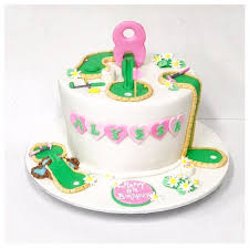 Mini Golf Cake Three Sweeties