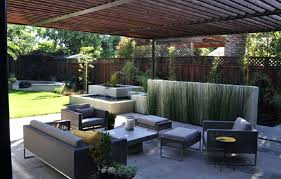 Modern Patio Design Ideas Patio Modern With Redwood Tree Outdoor