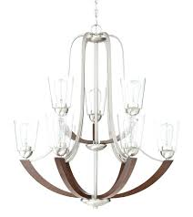 brushed nickel chandelier brushed nickel 9 light shaded chandelier progress lighting brushed nickel chandelier