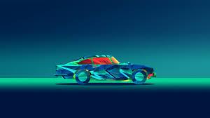abstract car facets justin maller kn jpg