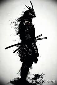 черно белый эскиз тату самурай 09032019 045 Tattoo Sketch