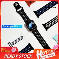 Dây Đeo Silicon Màu Trơn Cho Đồng Hồ Thông Minh Apple Watch 1 / 2 / 3 / 4 /  5 - Đồng hồ thông minh